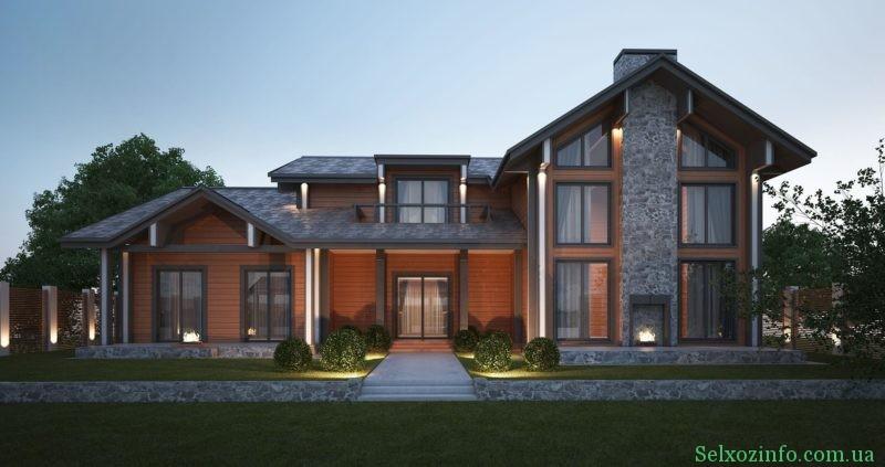 Дом в стиле Шале 2