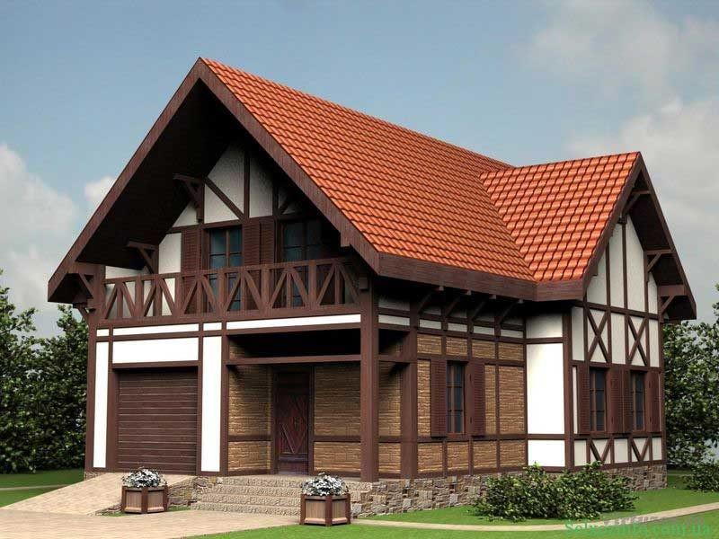 Дом в стиле Шале 3
